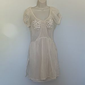 Juicy Couture Sz S Porcelain Mesh Dress NWT $328